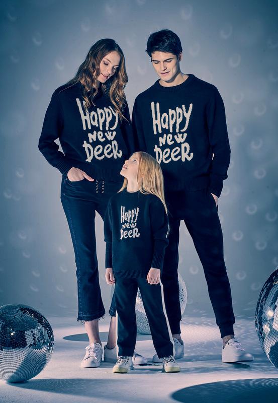 Новогодние свитеры Family Look